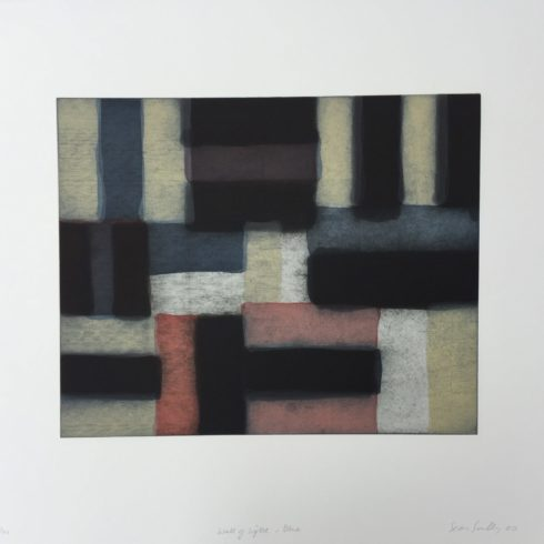 Wall of Light Blue by Sean Scully