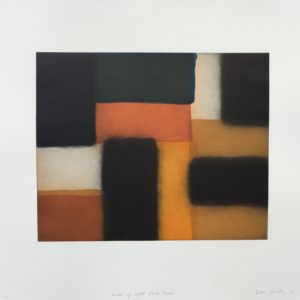 Wall of Light Blue Corner by Sean Scully