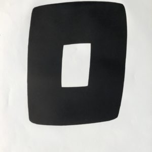 Ellsworth Kelly Black and White A.9