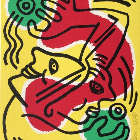 Keith Haring - International Volunteer Day