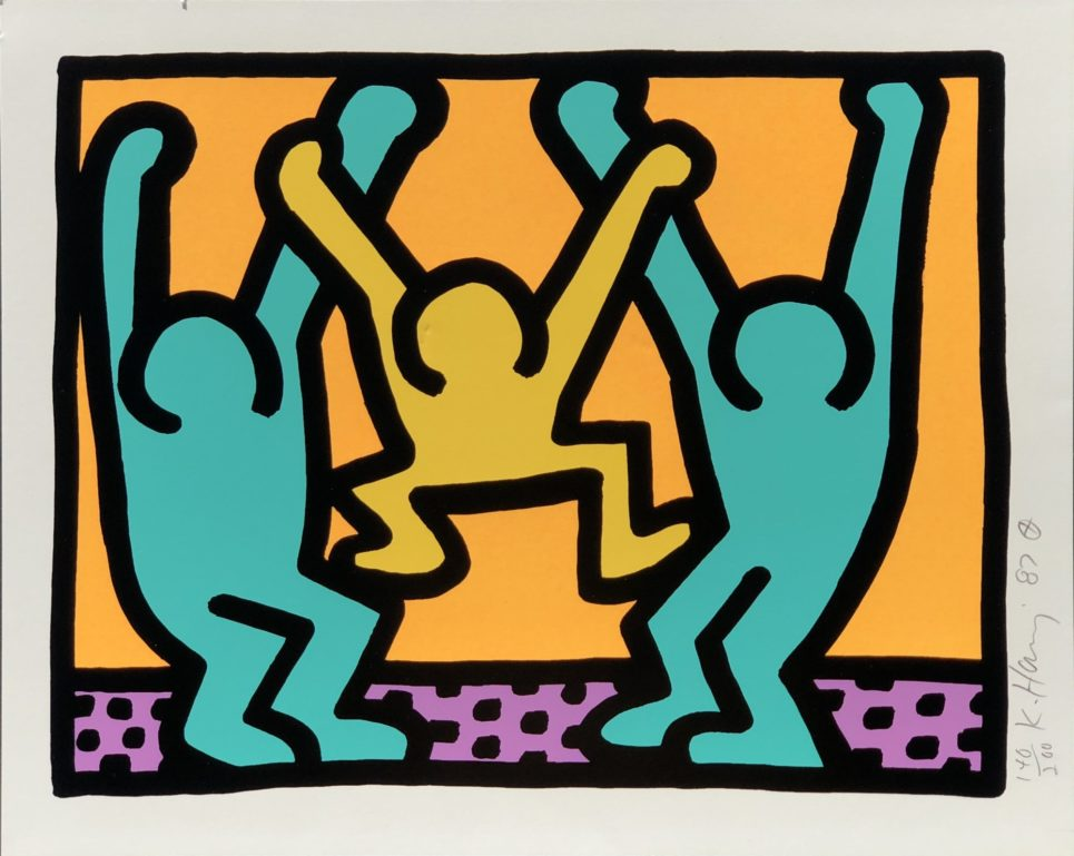 Keith Haring - Pop Shop I