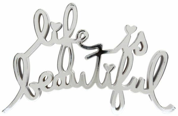 Mr. Brainwash - Life is Beautiful - Hard Candy Chrome