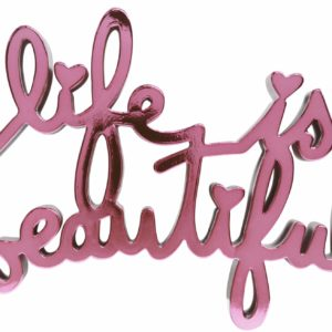 Mr. Brainwash - Life is Beautiful - Hard Candy Pink