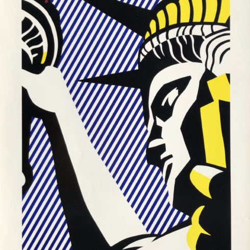 Roy Lichtenstein - I Love Liberty
