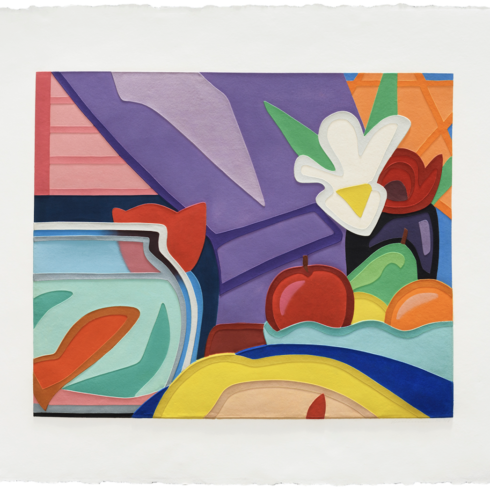 Tom Wesselmann - Still Life with Blonde and Goldfish