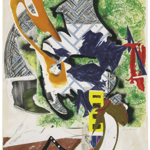 Frank Stella - Ahab's Leg