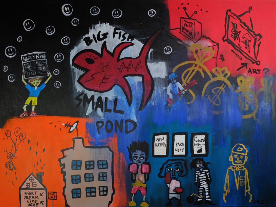 Small Fish Big Pond (2018) by Matt Smiley