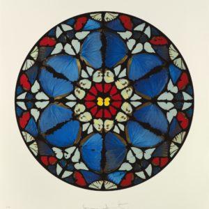 Damien Hirst Psalm: Verba mea auribus