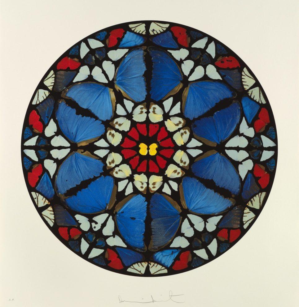 Damien Hirst - Psalm: Verba mea auribus