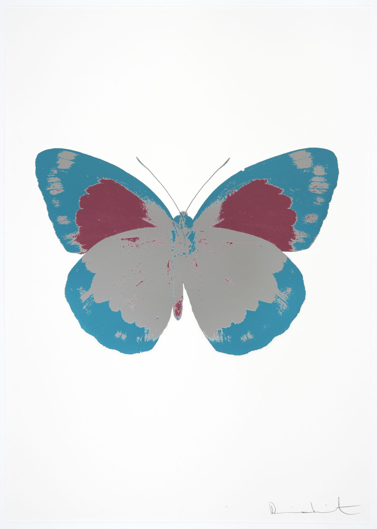 Damien Hirst - The Souls II - Silver Gloss - Topaz - Loganberry Pink
