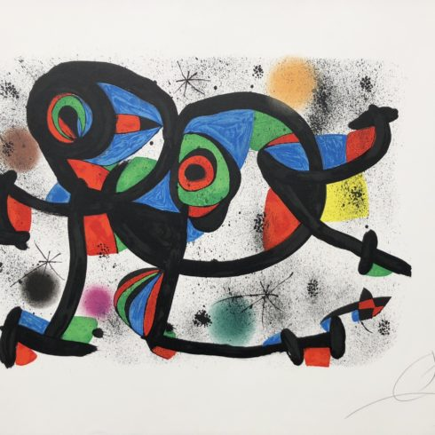 La Triple Roue I by joan miro