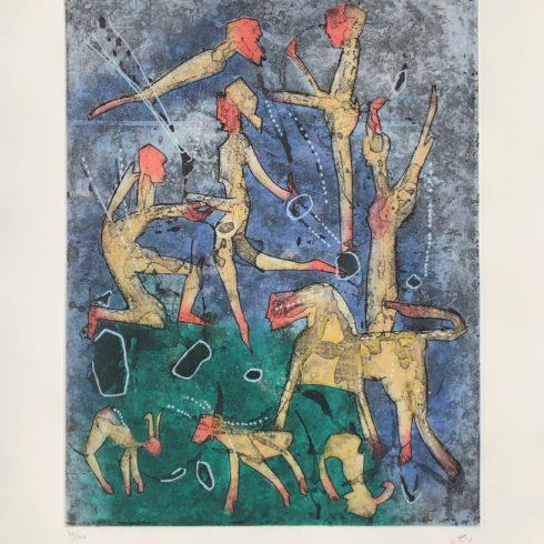 l'ame du tarot de theleme by roberto matta