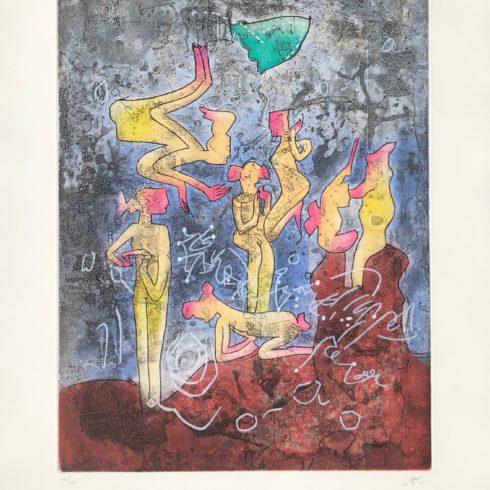 l'ame du tarot de theleme 3 by roberto matta