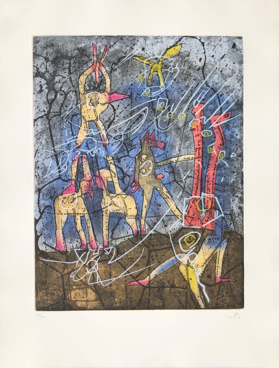 l'ame du tarot de theleme 4 by roberto matta