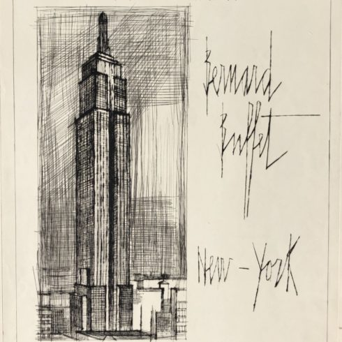 Bernard Buffet - Empire State Building