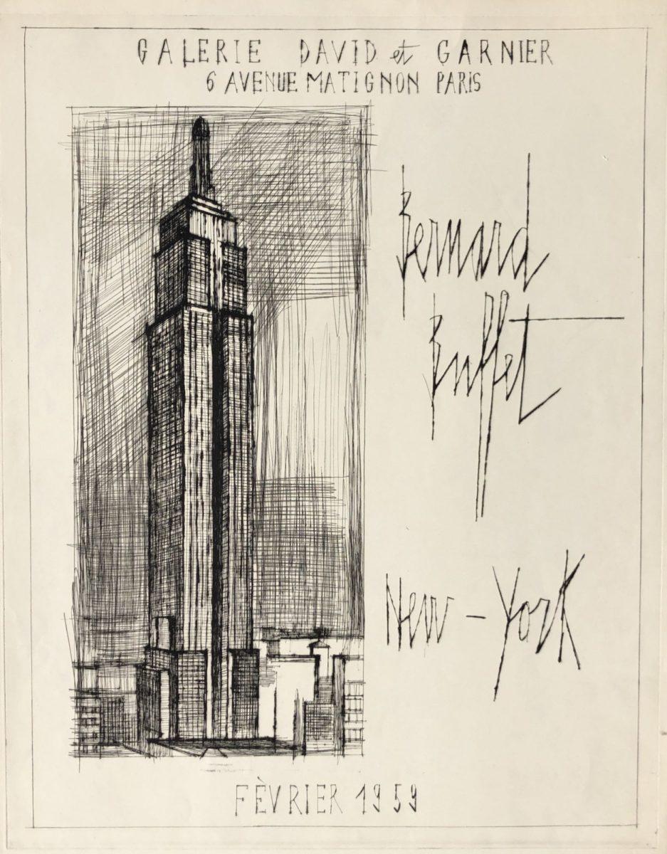 Bernard Buffet - Empire State Building