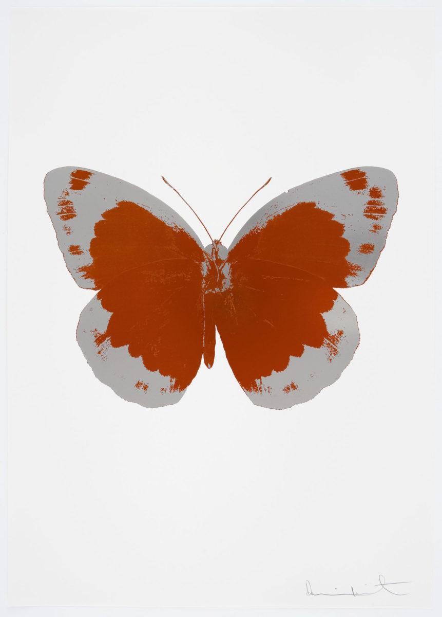 Damien Hirst The Souls II - Prairie Copper - Silver Gloss