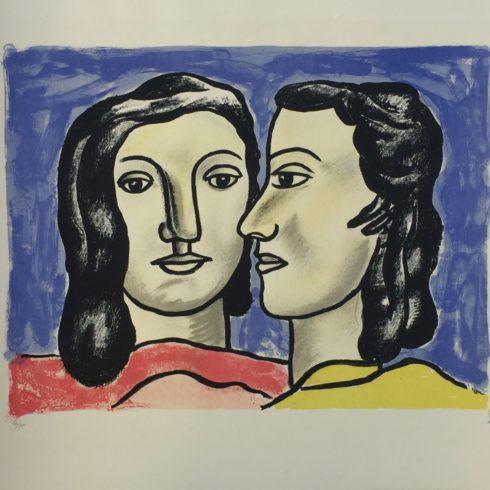 les deux visages by fernand leger