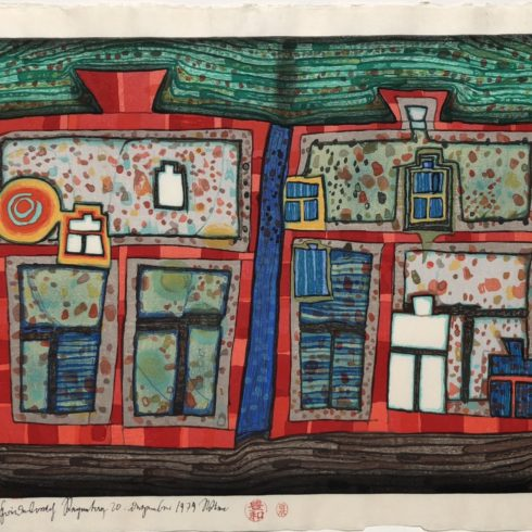Friedensreich Hundertwasser - 2 to 13 Windows Afloat