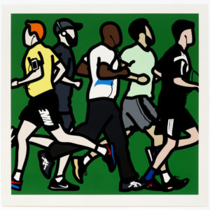 Julian Opie Running men