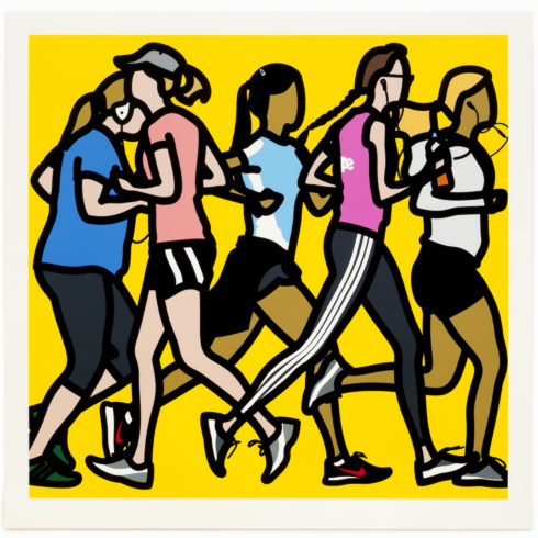 Julian Opie - Running women