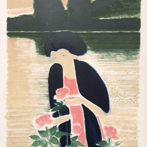 Andre Brasilier - Les Roses de l'Etang