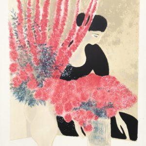 Andre Brasilier - Les Deux Bouquets