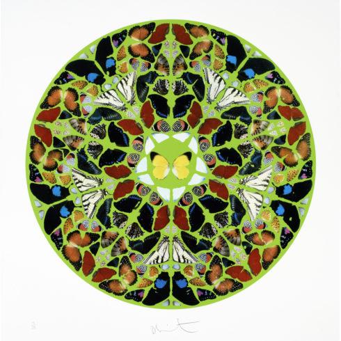 Damien Hirst - Pslam: Domini est terra