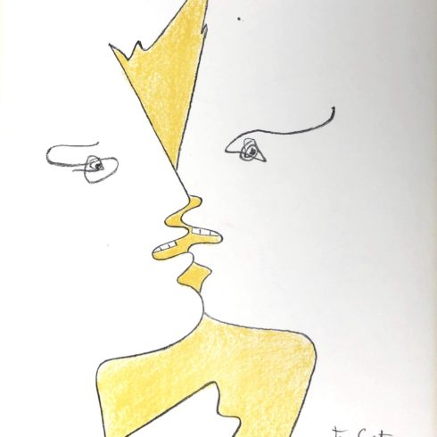 Jean Cocteau - The Kiss