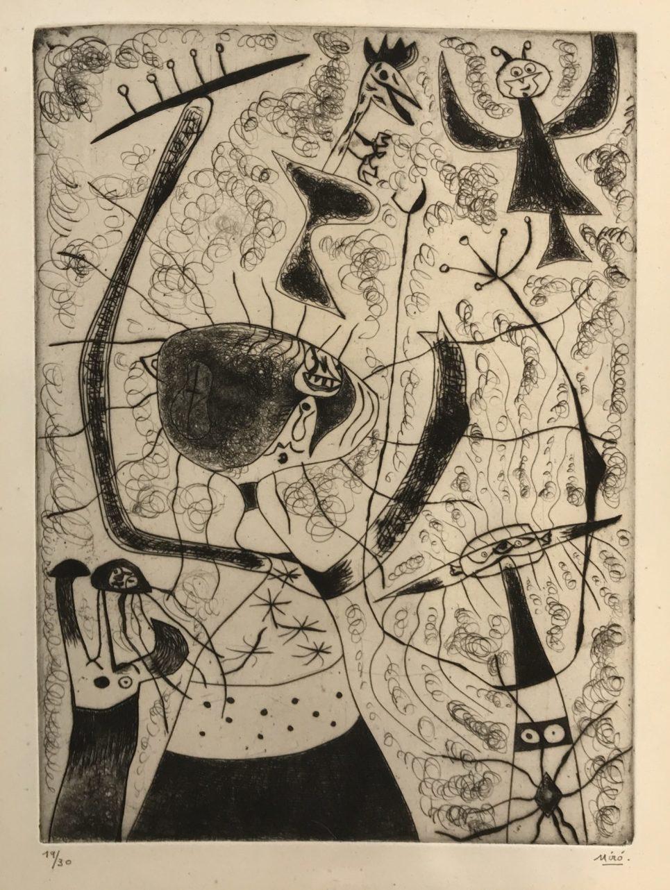Joan Miro - Trois Soeurs