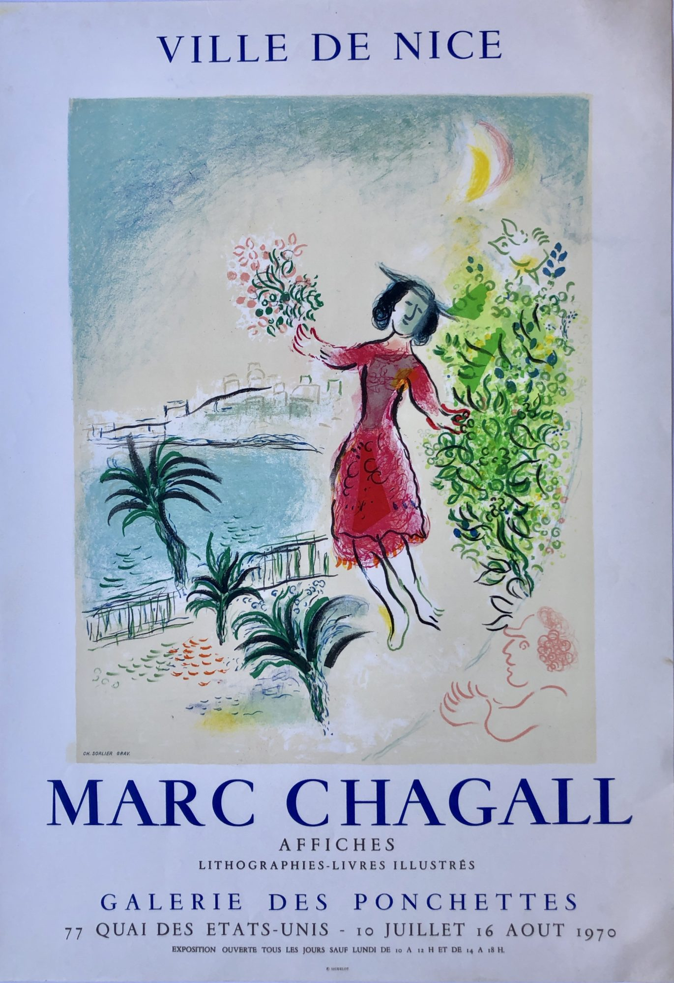 Bay of Nice by Marc Chagall