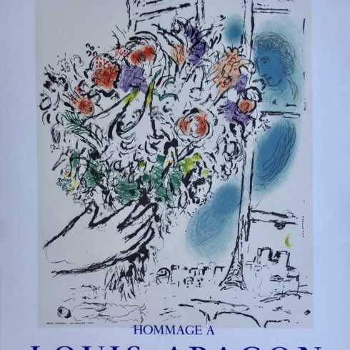 Floral Offering by Marc Chagall