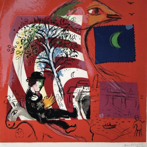 Marc Chagall - L'Arc en Ciel