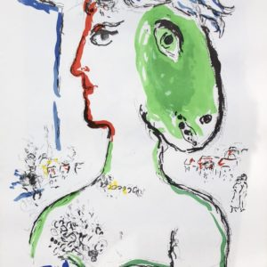The artist as a phoenix by Marc Chagall