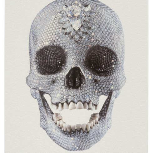 Damien Hirst - For The Love of God (White)