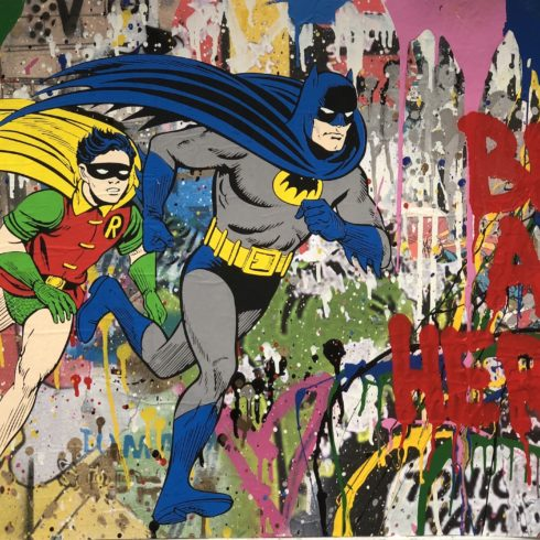 Mr. Brainwash - Batman & Robin