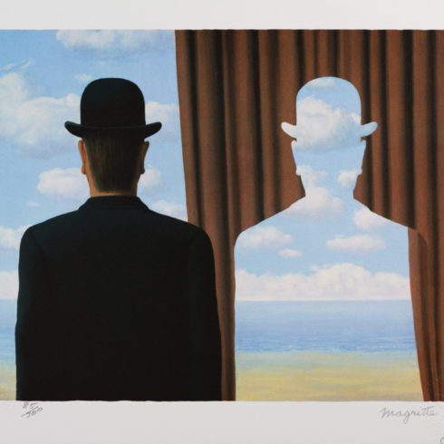 Rene Magritte - Decalcomanie