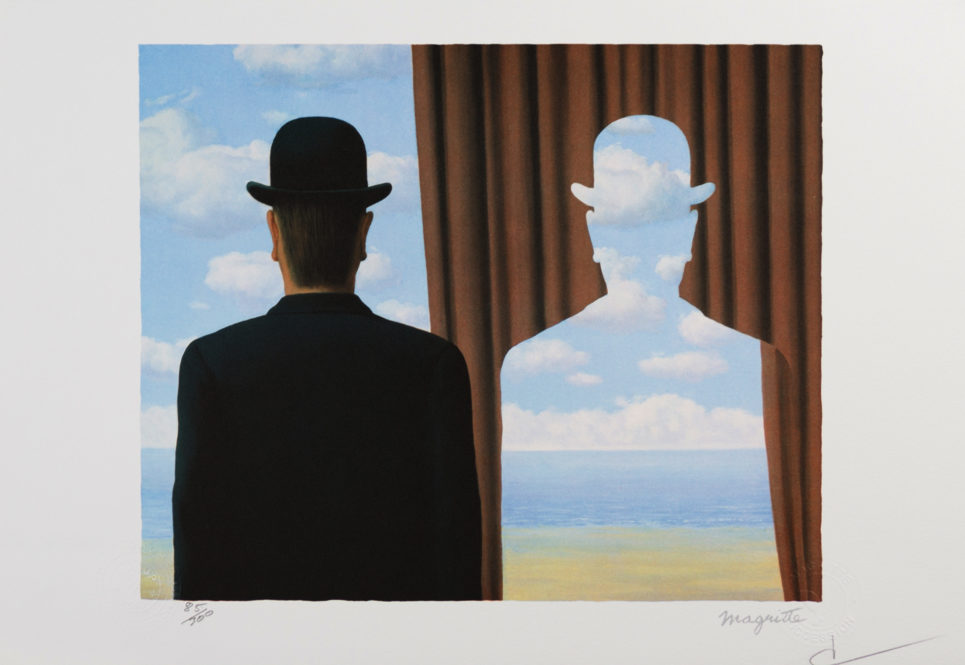 Rene Magritte - Decalcomanie