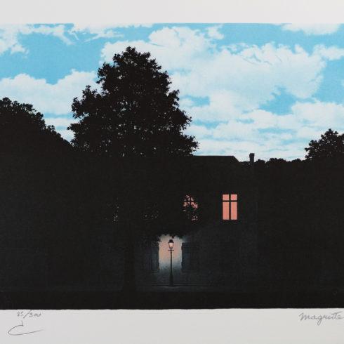 Rene Magritte - L'Empire Des Lumières horizontal