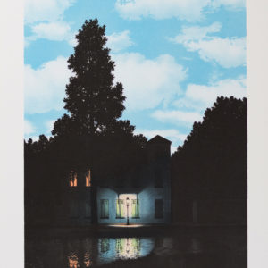 Rene Magritte L'Empire Des Lumières Vertical