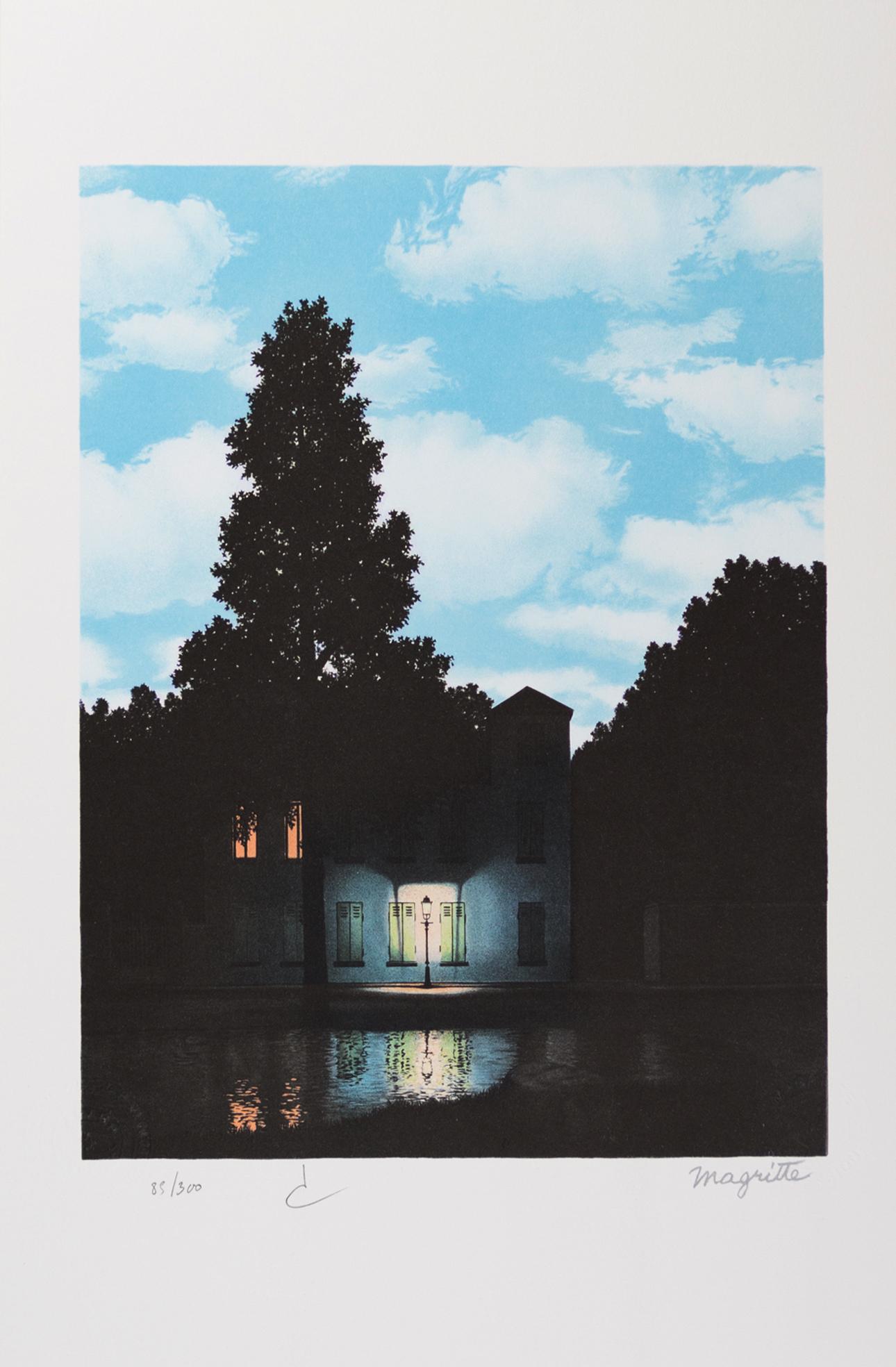 Rene Magritte - L'Empire Des Lumières Vertical
