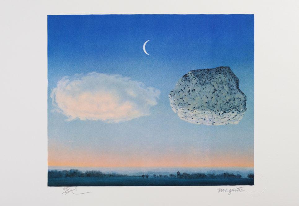 Rene Magritte - La Bataille de Argonne