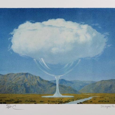 Rene Magritte - La Corde Sensible