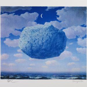 Rene Magritte La Fleche de Zenon