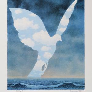 Rene Magritte La Grande Famille
