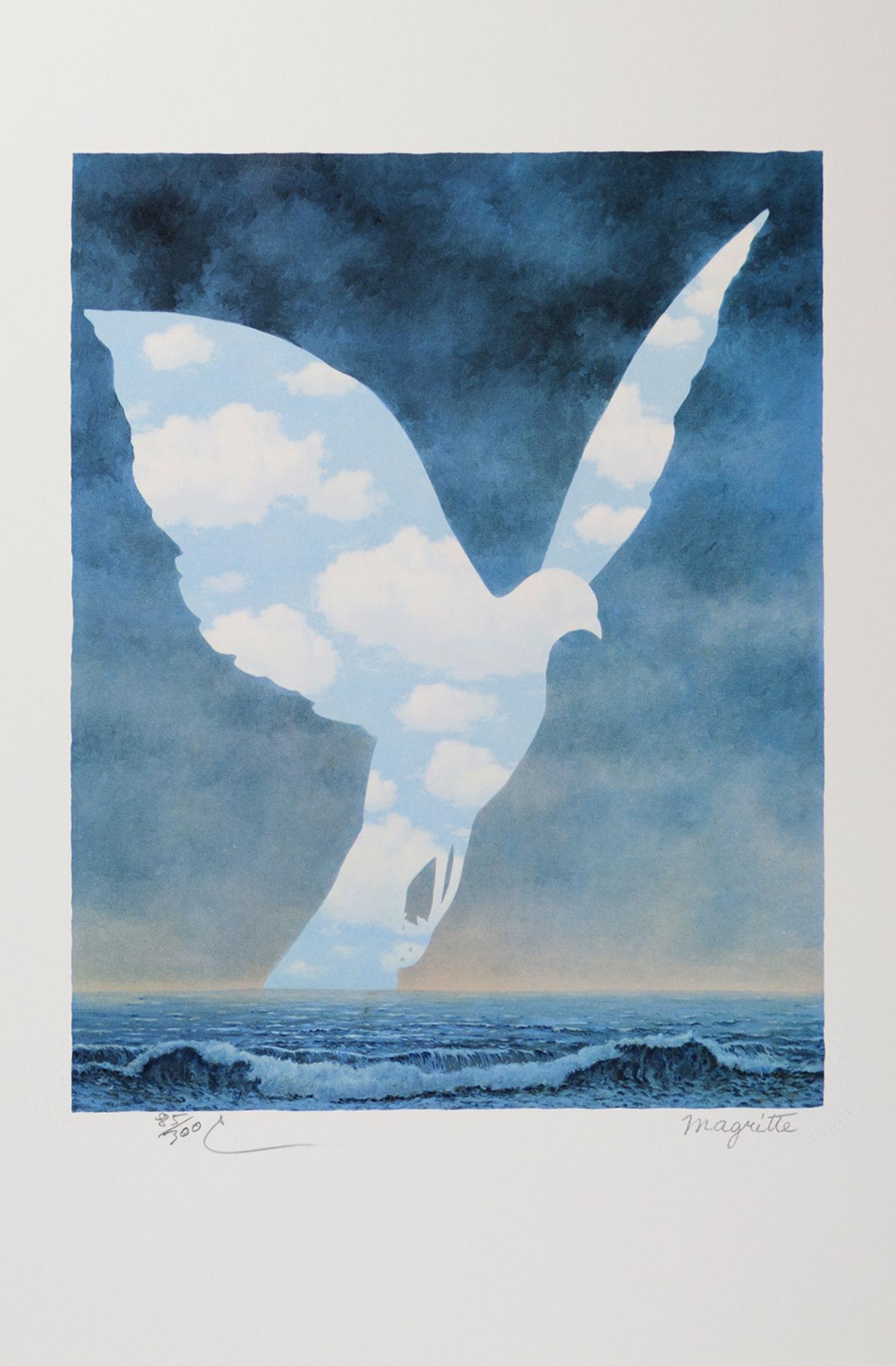 Rene Magritte - La Grande Famille