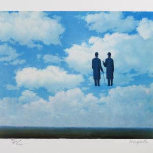 Rene Magritte La Reconnaissance Infinie