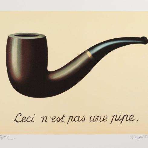 Rene Magritte - La Trahison des Images