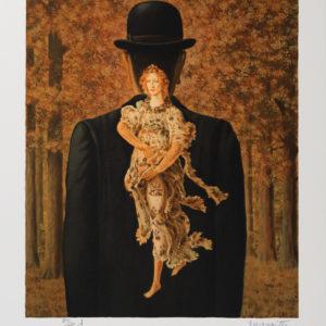Rene Magritte Le Bouquet tout fait