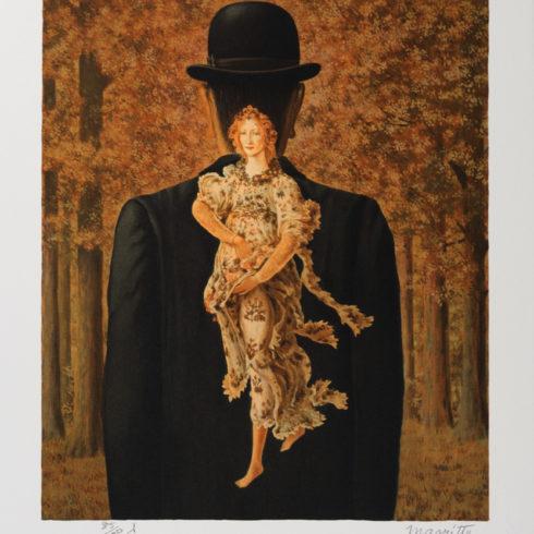Rene Magritte - Le Bouquet tout fait